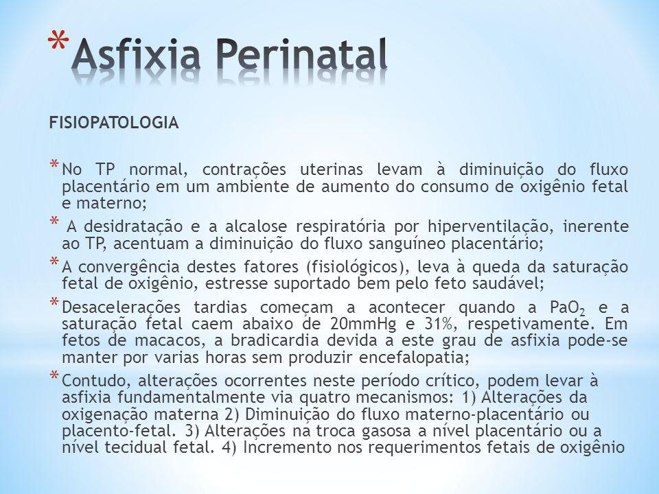 Asfixia Perinatal FISIOPATOLOGIA