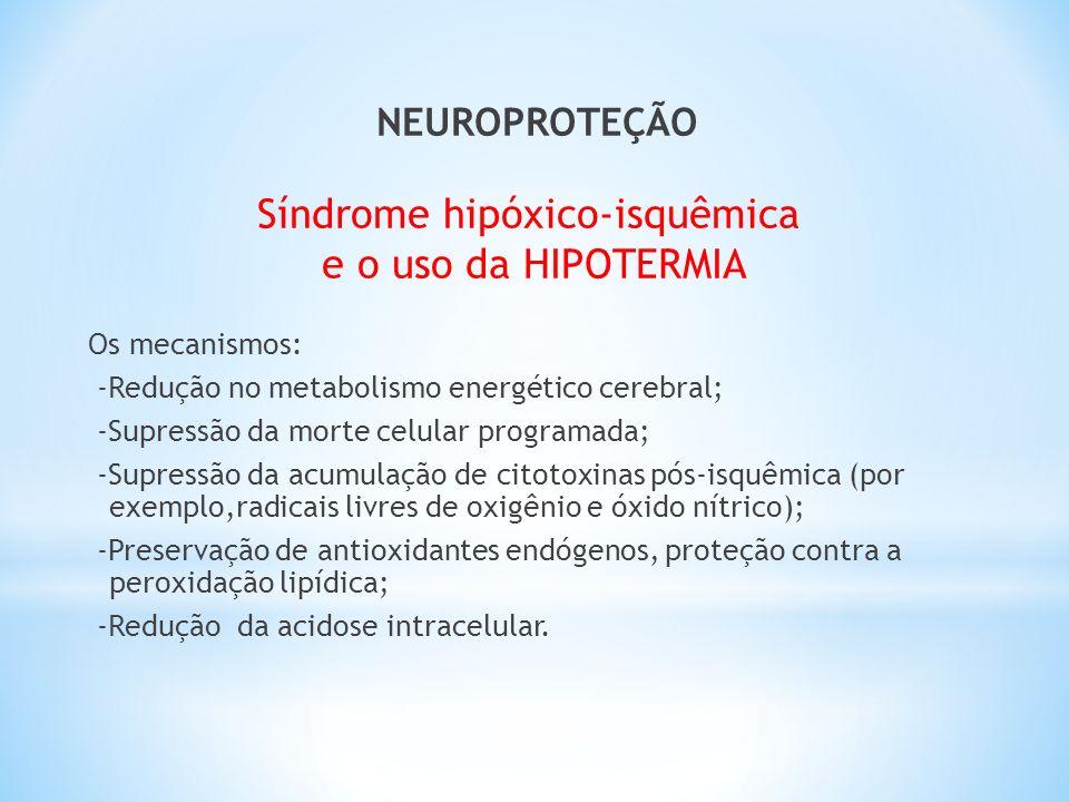 Síndrome hipóxico-isquêmica