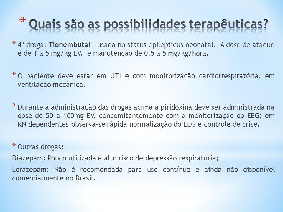 Quais são as possibilidades terapêuticas