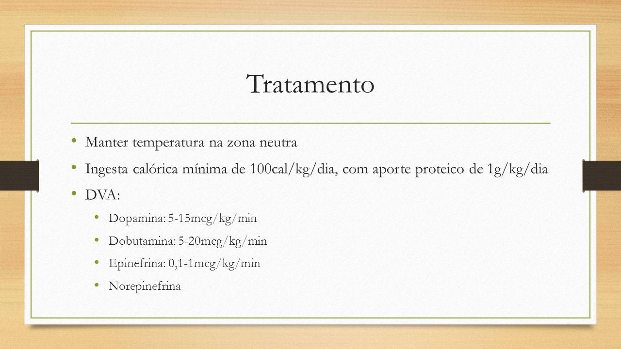 Tratamento Manter temperatura na zona neutra