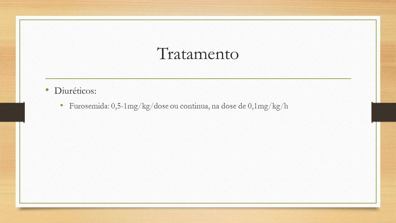 Tratamento Diuréticos: