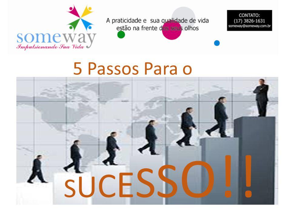 5 Passos Para o SUCESSO!!