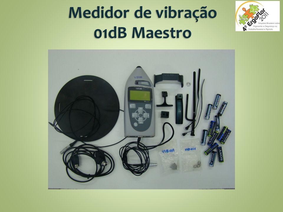Medidor de vibração 01dB Maestro