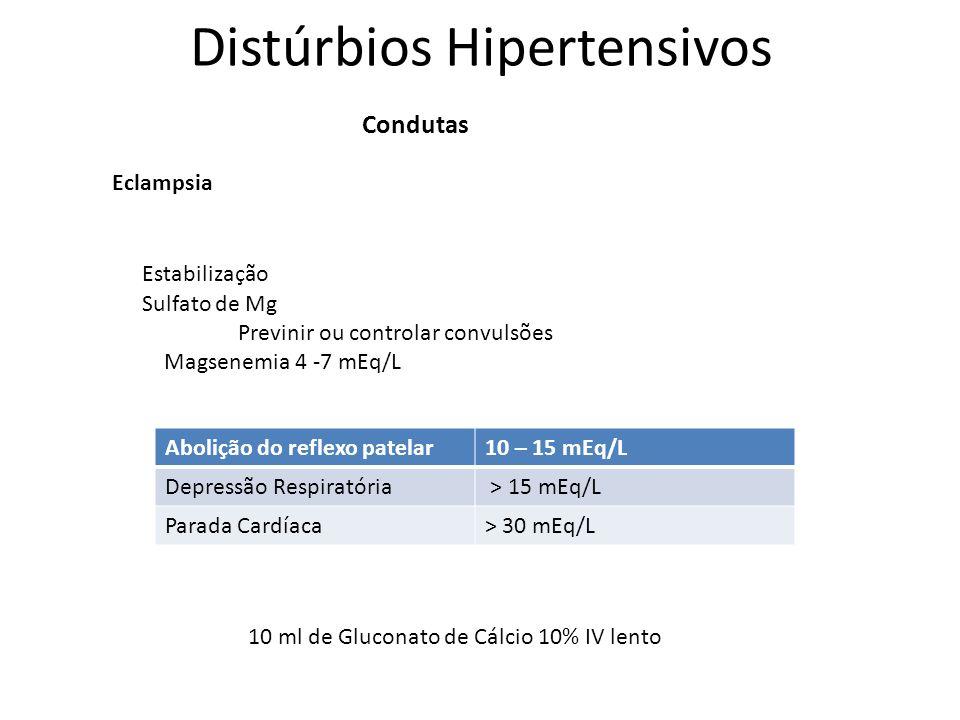 Distúrbios Hipertensivos