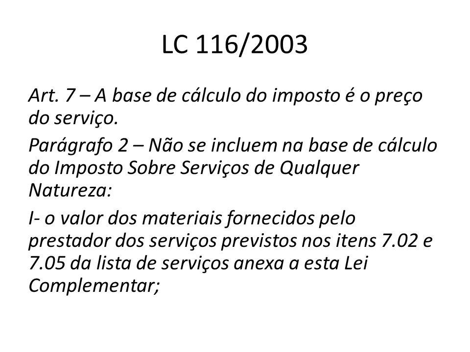 LC 116/2003