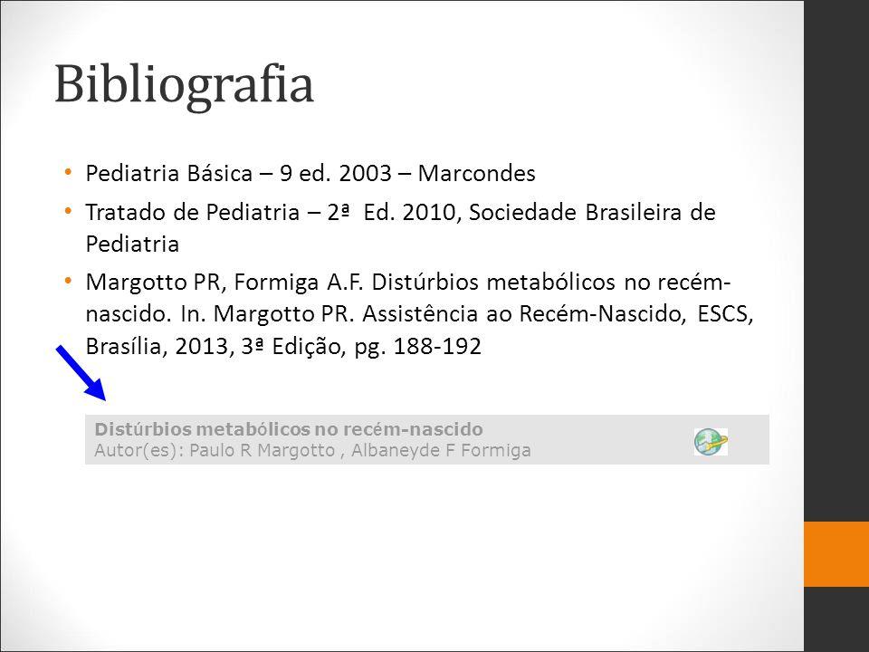 Bibliografia Pediatria Básica – 9 ed. 2003 – Marcondes