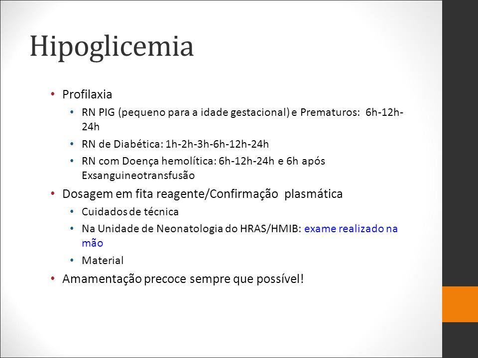 Hipoglicemia Profilaxia