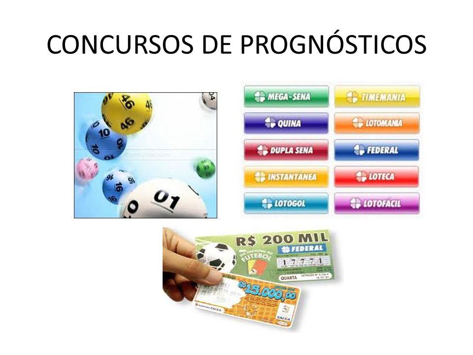 CONCURSOS DE PROGNÓSTICOS