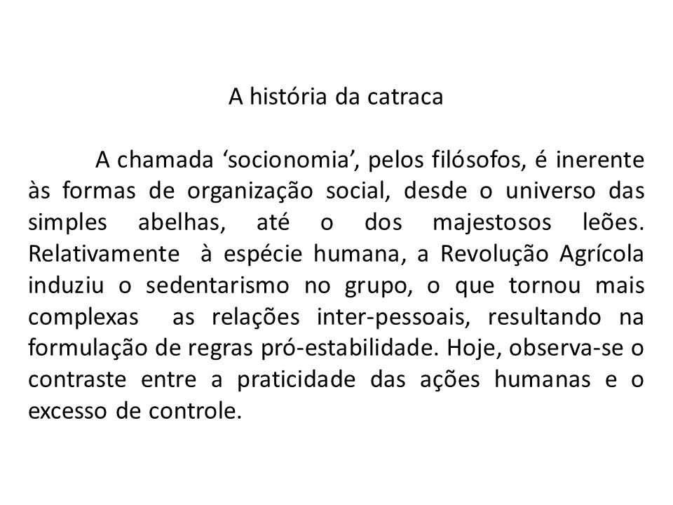 A história da catraca