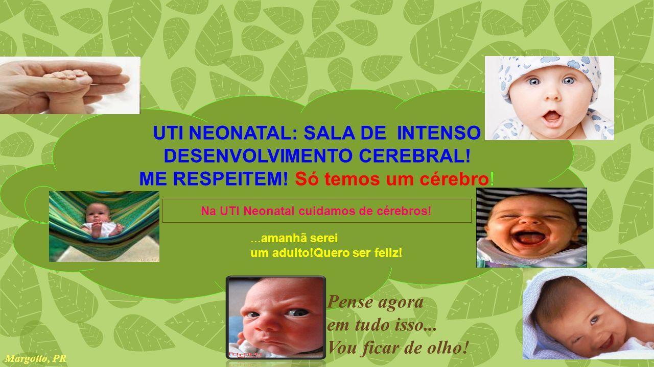 UTI NEONATAL: SALA DE INTENSO DESENVOLVIMENTO CEREBRAL!