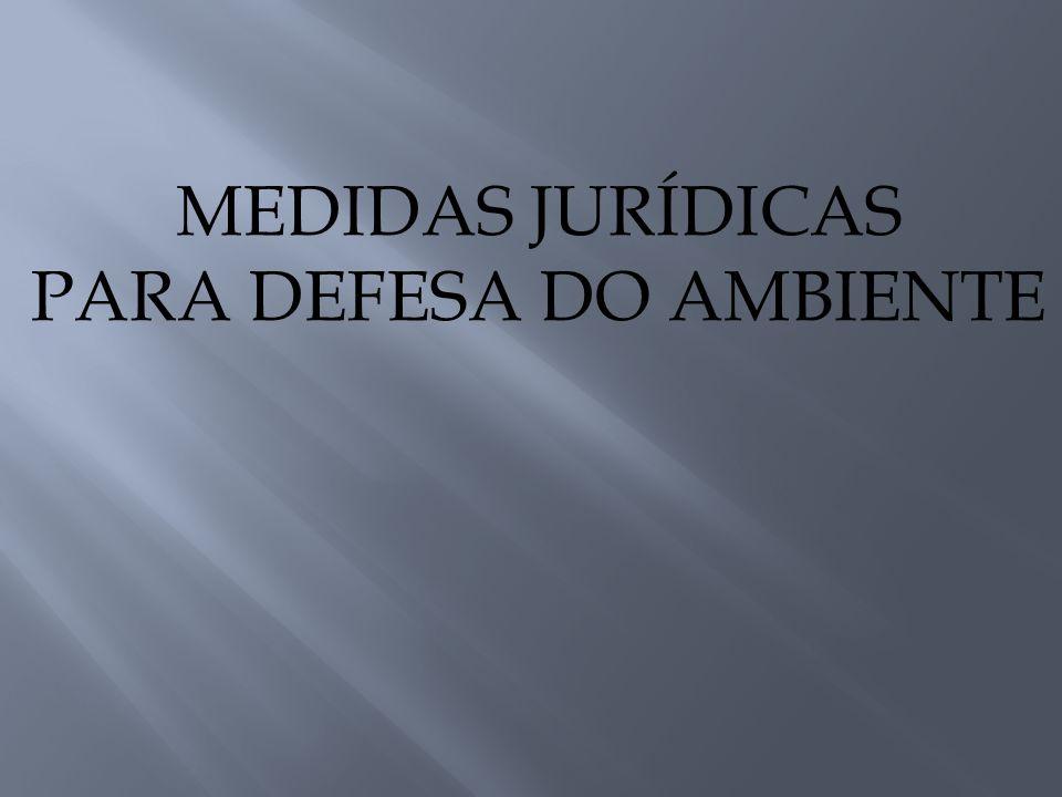 PARA DEFESA DO AMBIENTE
