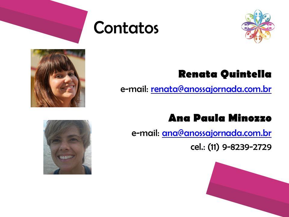 Contatos Renata Quintella Ana Paula Minozzo