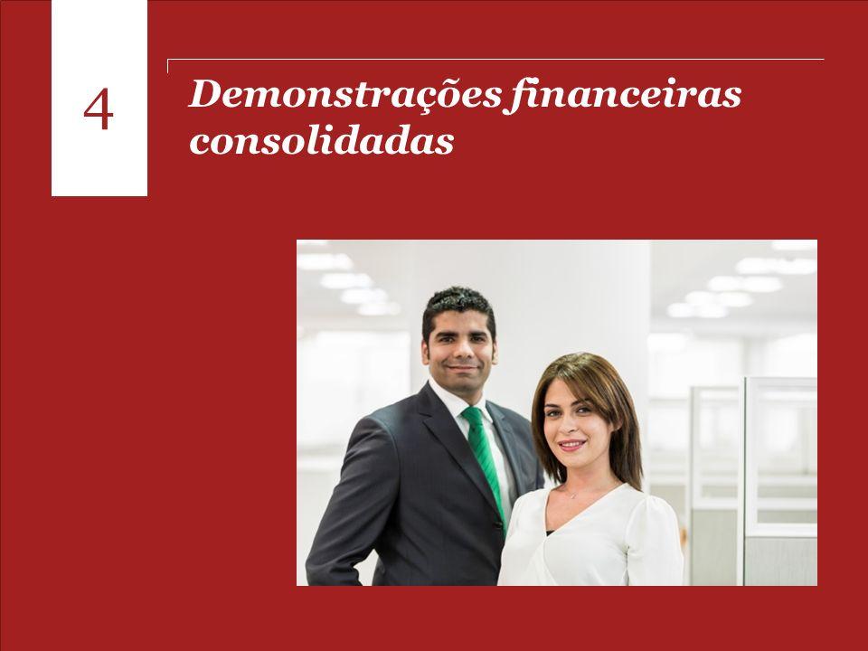 4 Demonstrações financeiras consolidadas