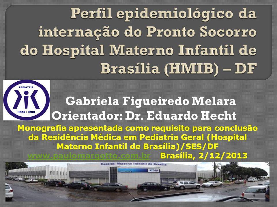 Gabriela Figueiredo Melara Orientador: Dr. Eduardo Hecht