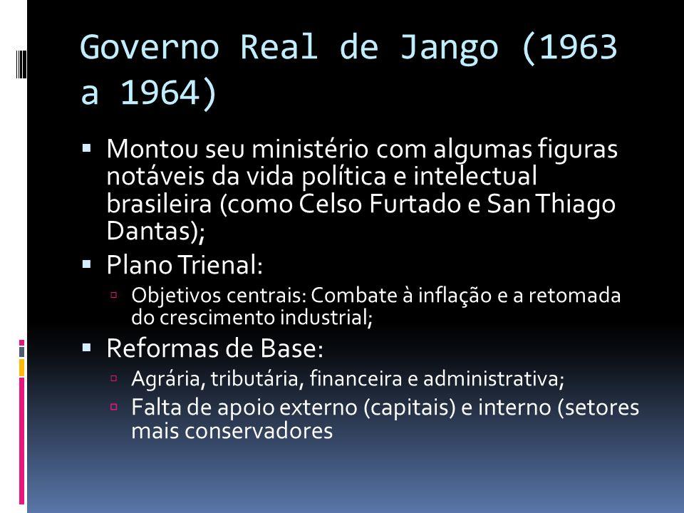 Governo Real de Jango (1963 a 1964)