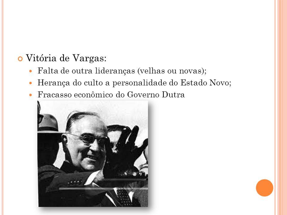 Vitória de Vargas: Falta de outra lideranças (velhas ou novas);