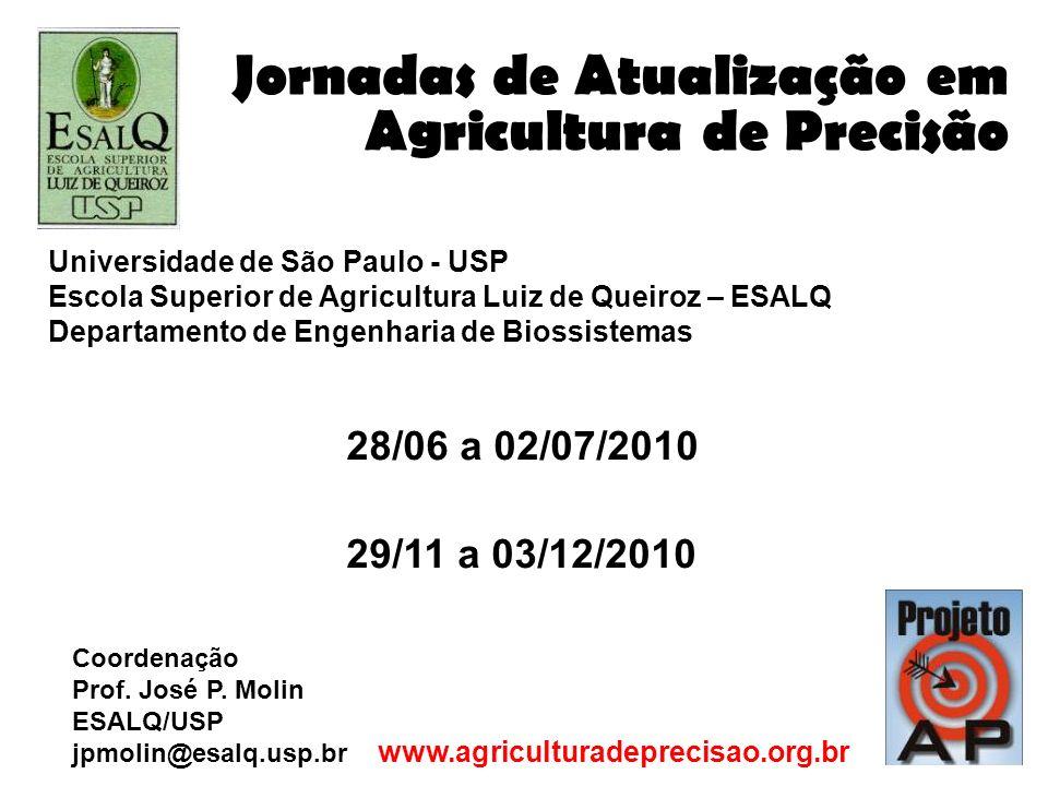 Jornadas de Atualização em Agricultura de Precisão