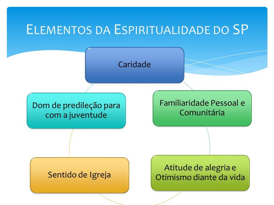 Elementos da Espiritualidade do SP