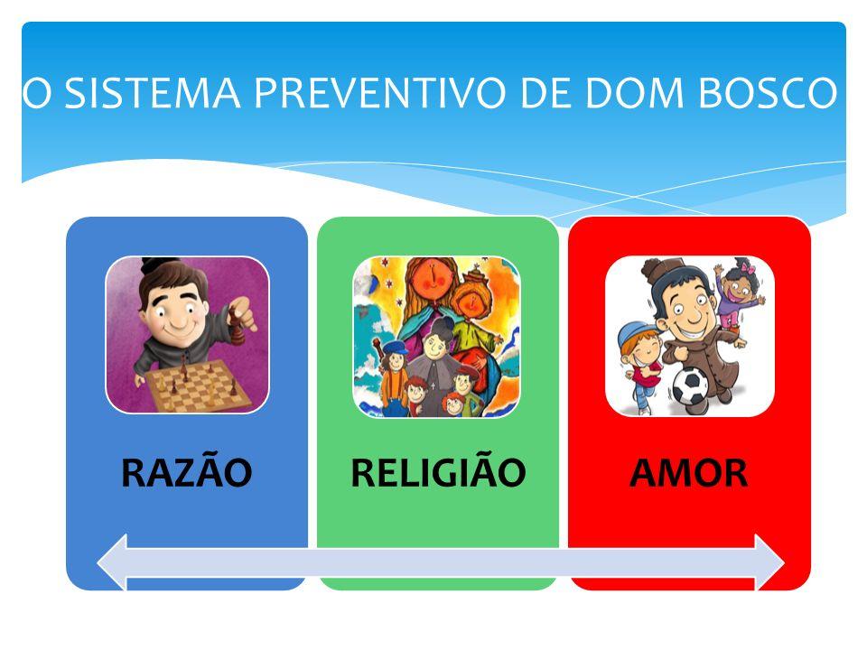 O SISTEMA PREVENTIVO DE DOM BOSCO
