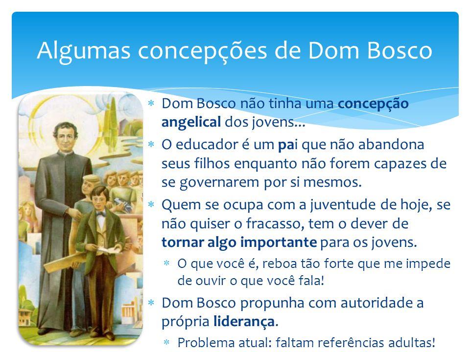 Algumas concepções de Dom Bosco