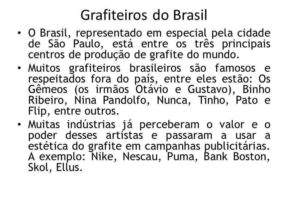 Grafiteiros do Brasil