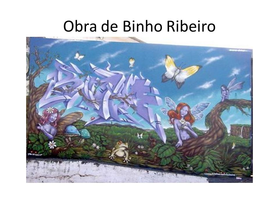 Obra de Binho Ribeiro