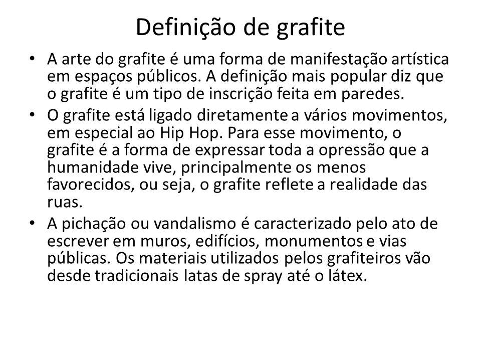 Definição de grafite