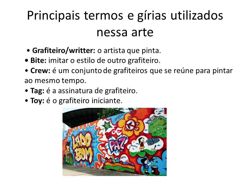 Principais termos e gírias utilizados nessa arte