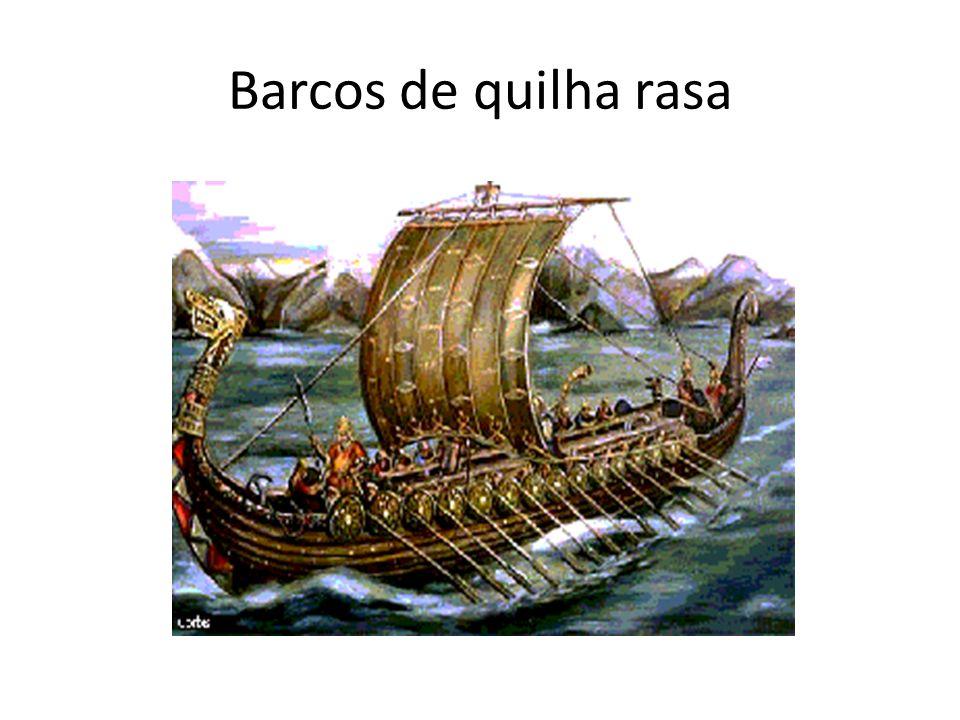 Barcos de quilha rasa
