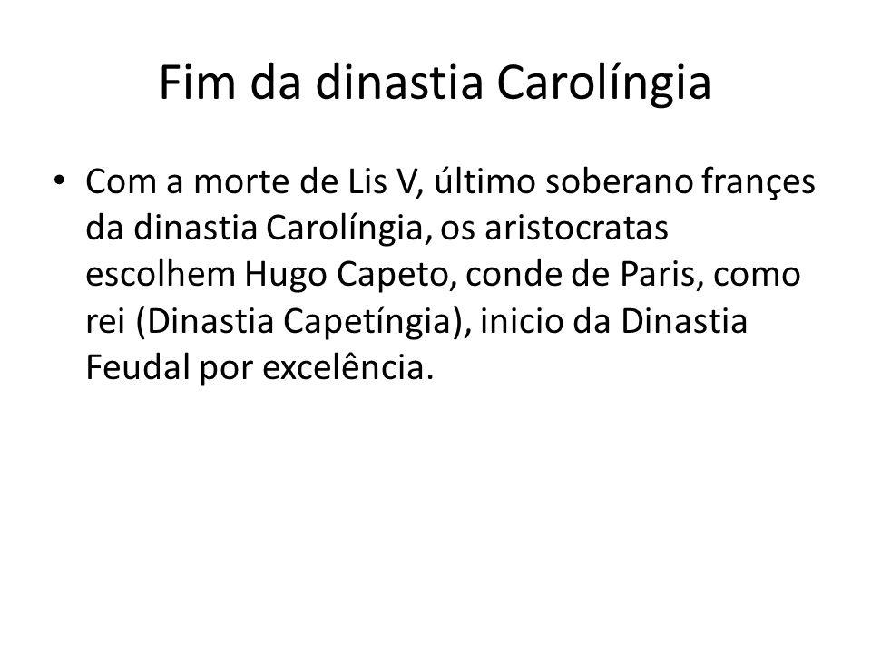 Fim da dinastia Carolíngia