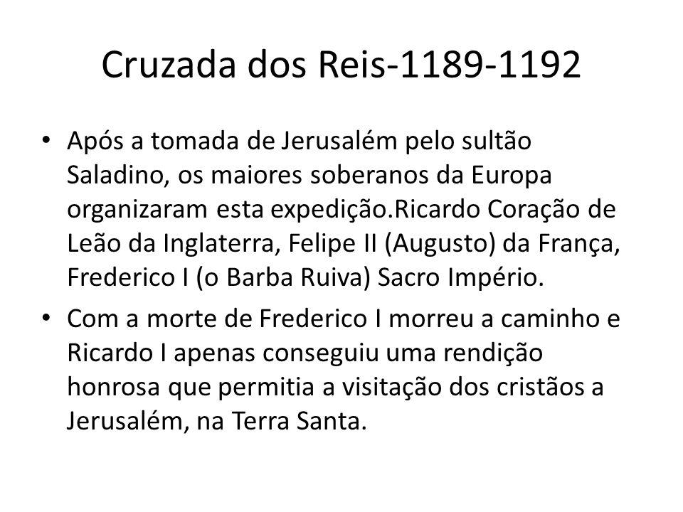 Cruzada dos Reis-1189-1192