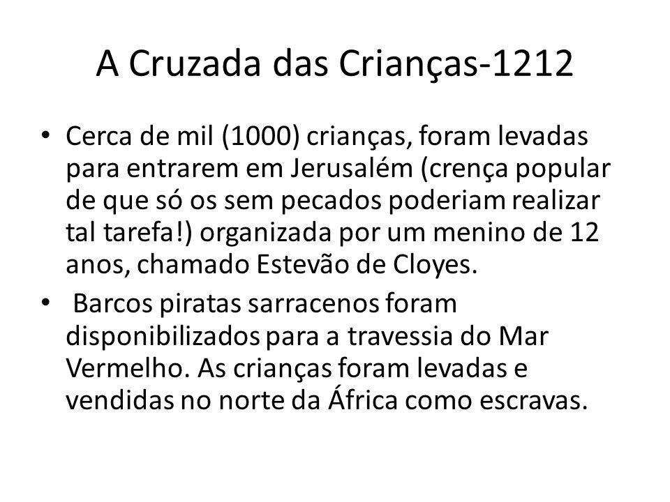 A Cruzada das Crianças-1212