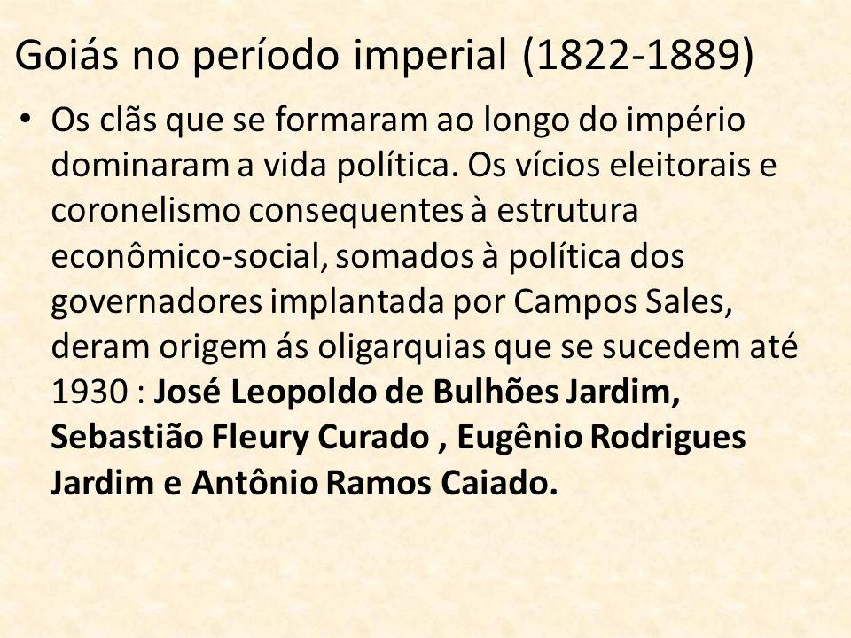 Goiás no período imperial (1822-1889)