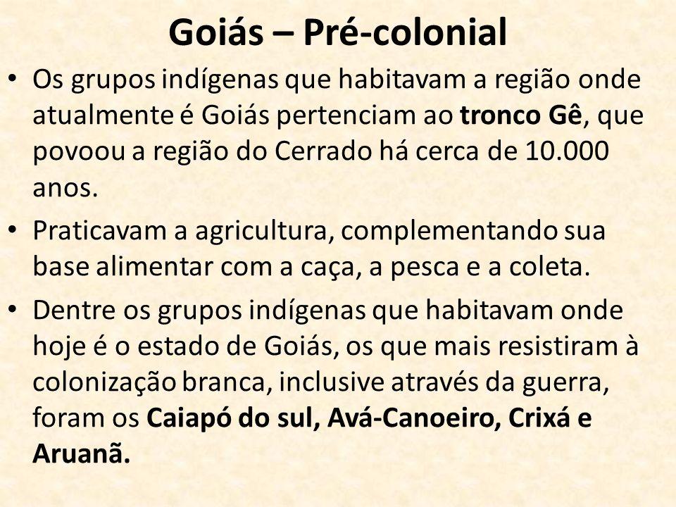 Goiás – Pré-colonial