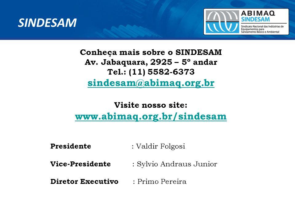 Conheça mais sobre o SINDESAM