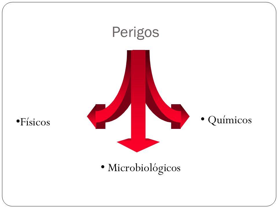 Perigos Químicos Físicos Microbiológicos