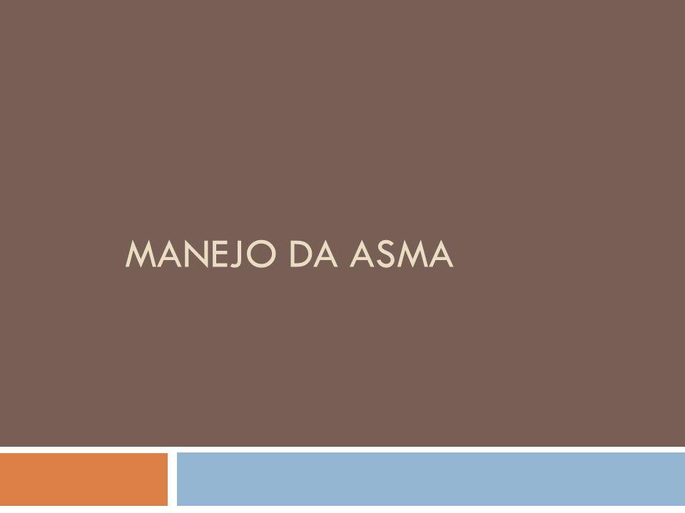 MANEJO DA ASMA