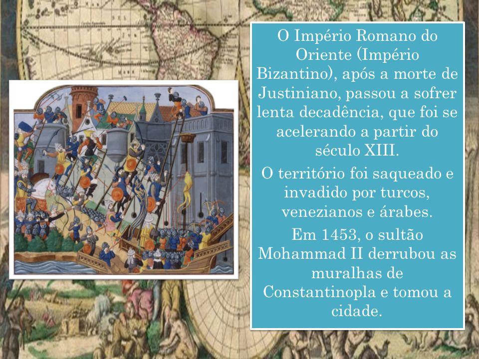 O território foi saqueado e invadido por turcos, venezianos e árabes.