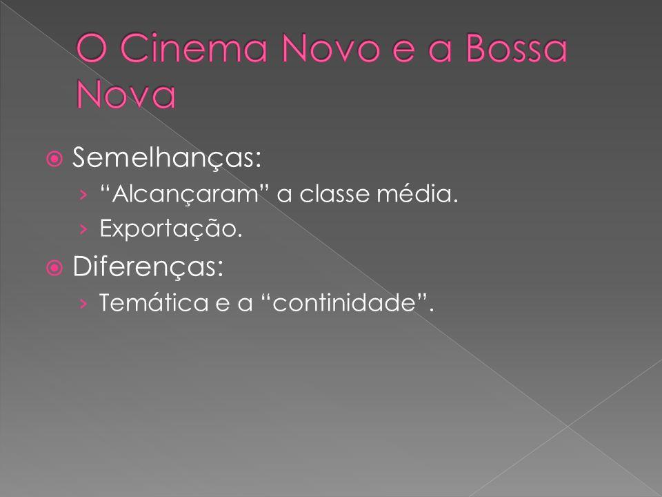 O Cinema Novo e a Bossa Nova