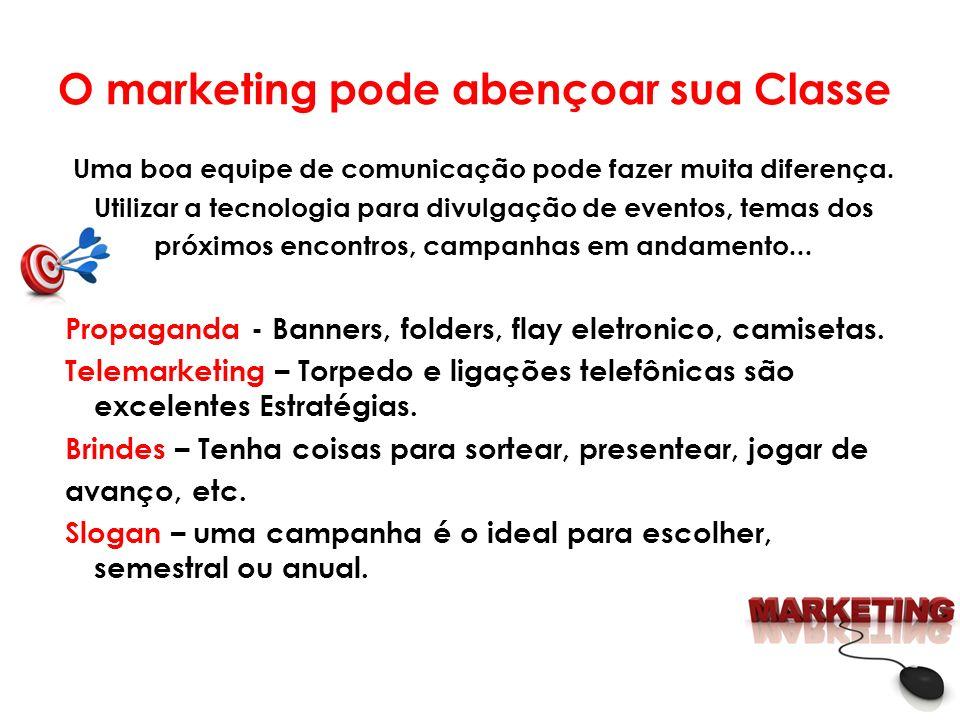 O marketing pode abençoar sua Classe