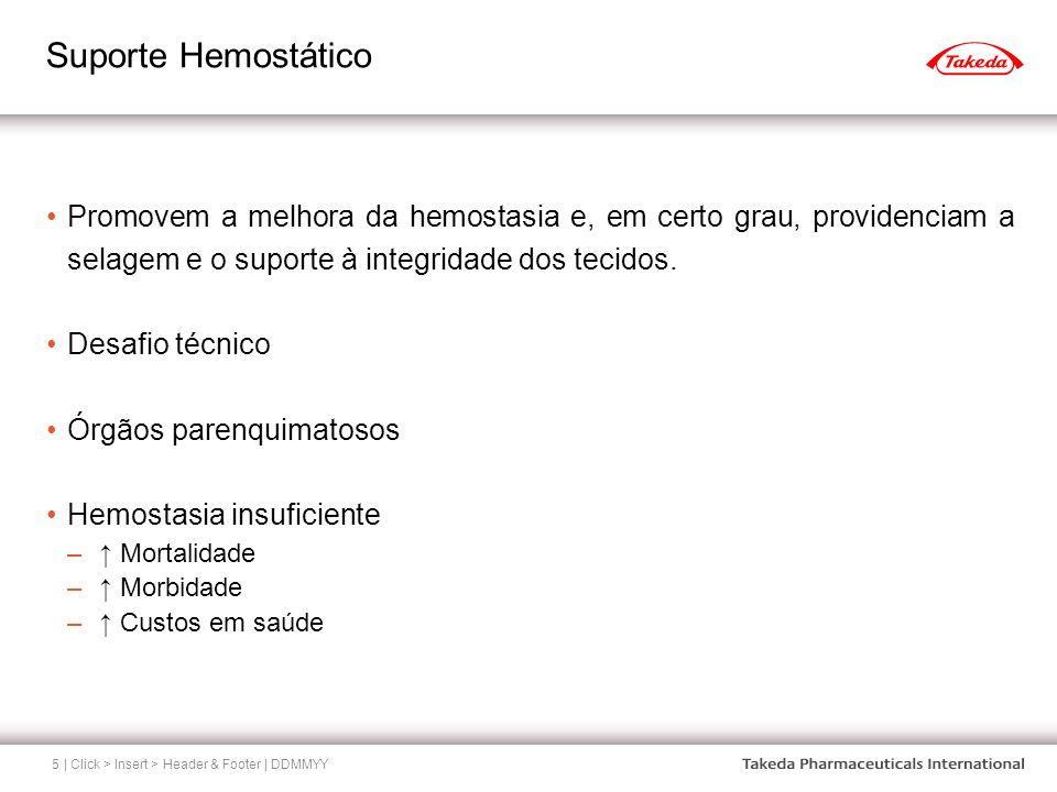 Suporte Hemostático Promovem a melhora da hemostasia e, em certo grau, providenciam a selagem e o suporte à integridade dos tecidos.