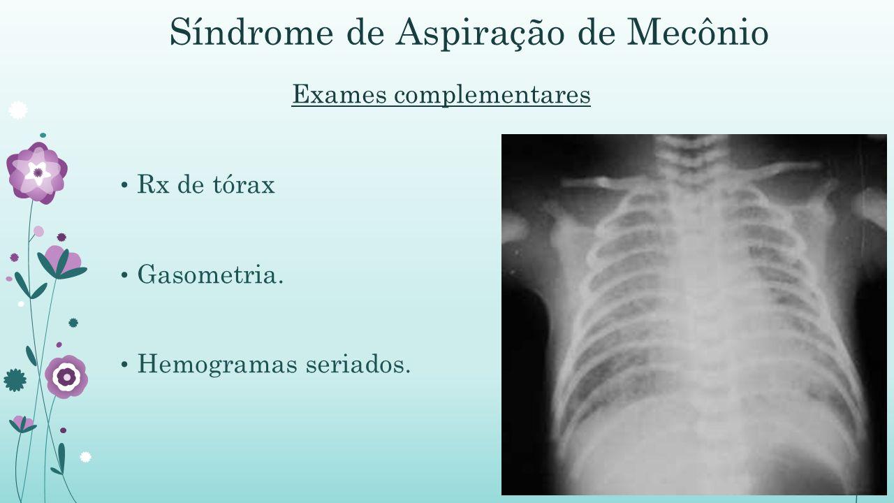 Síndrome de Aspiração de Mecônio