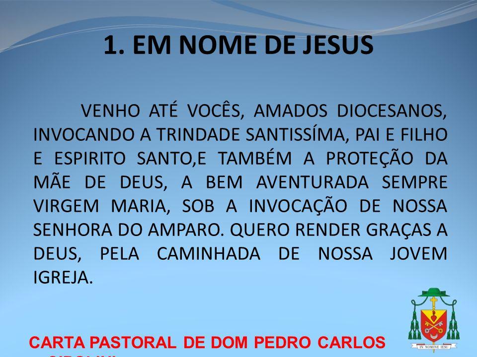 1. EM NOME DE JESUS