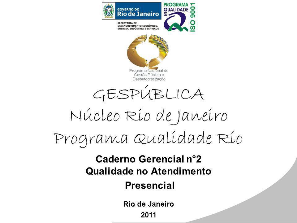 GESPÚBLICA Núcleo Rio de Janeiro Programa Qualidade Rio