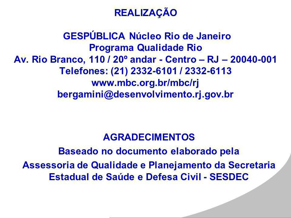 Baseado no documento elaborado pela