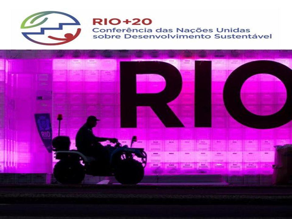 Centro de Convenções no Rio Centro – Cúpula dos Prefeitos Junhp de 2012 RIO +20