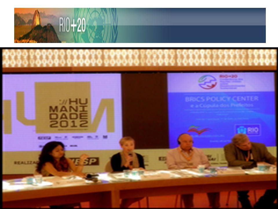 Palestrantes do Workshop, Cidades BRICS e os Desafios do Desenvolvimento Urbano Sustentáveis