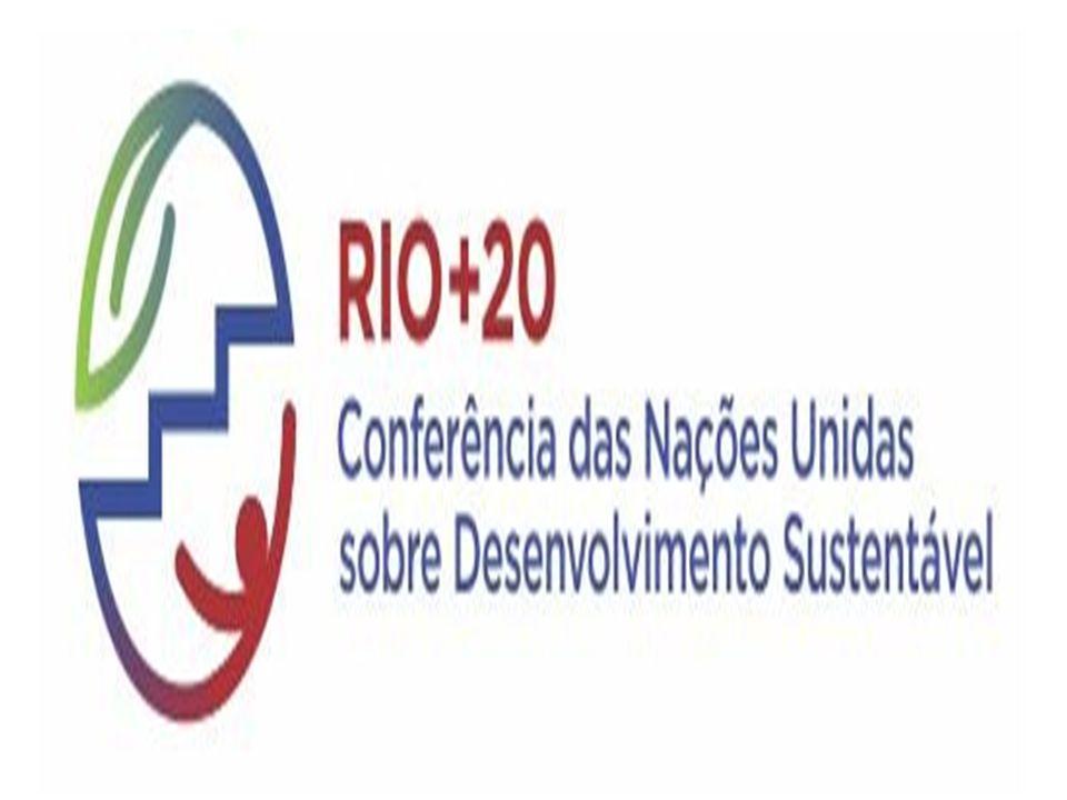 LOGO da Conferência das Nações Unidas sobre Desenvolvimento Sustentável – Rio +20
