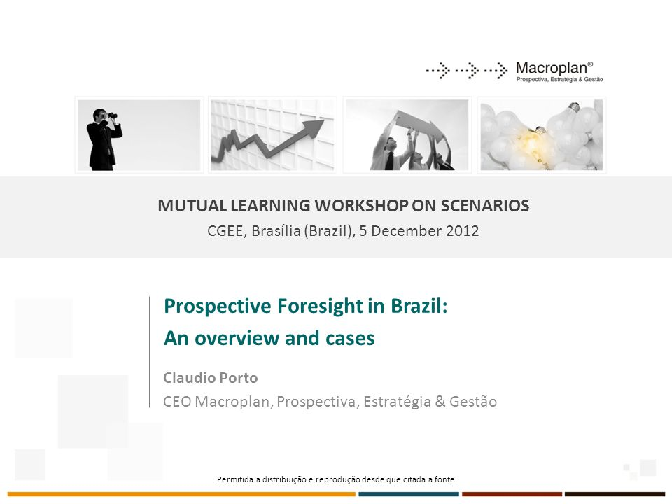 Prospective Foresight in Brazil: An overview and cases
