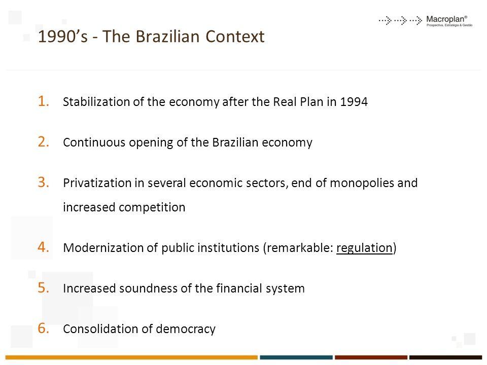 1990's - The Brazilian Context
